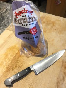 Gluten-free bread, going gluten free, gluten free option